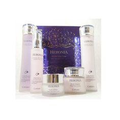 COREANA Heronia Hydra Solution Dual Free Skin Care Set Whitening, Anti-Wrinkle #COREANA