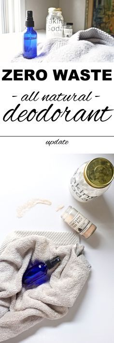 An all natural, zero waste deodorant that really works with www.goingzerowaste.com