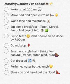 Night routine for school ������������ - #night #Routine #School #BeautyRoutineForWomen Daily Beauty Routine, Skin Care Routine For 20s, Skin Routine, Skincare Routine, Skin Care Regimen, Skin Care Tips, Brown Spots On Skin, Prevent Wrinkles, Statements