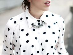 I don't normally like polka dots, but this is pretty.