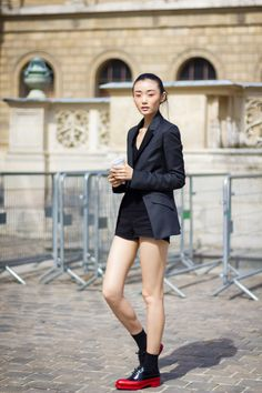 How to Wear the Hot Pants Seen at Dior and Vuitton Cruise - Gallery - Style.com