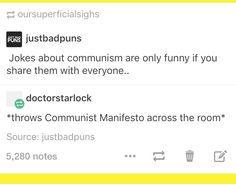 Lol I just love communism jokes