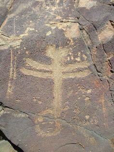 Gila national forest - USA. Dragonfly loop trail Dragonfly Trail Petroglyph