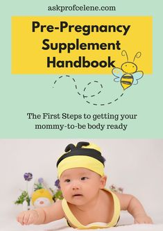 All the Pre-Pregnancy Supplement information you will ever need
