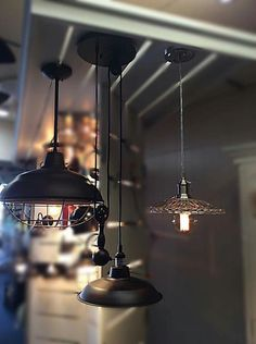 Pendant light options