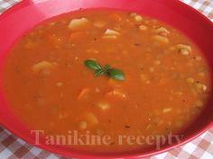 Šošovicovo - zeleninová polievka :: Recepty Ethnic Recipes, Food, Essen, Meals, Yemek, Eten