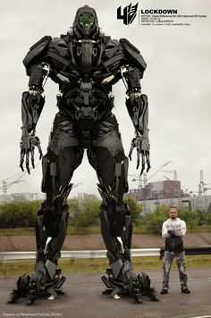 Transformers Age of Extinction Vitaly Bulgarov Concept Art Lockdown Scale