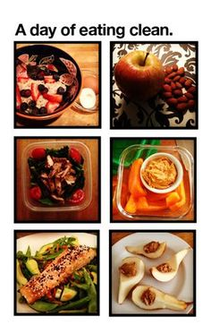 A day of eating clean. - The Kitchen Table - The Eat-Clean Diet®