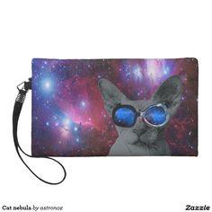 Cat nebula wristlet