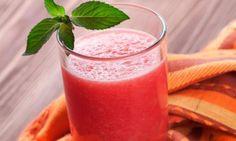 Shake para emagrecer de melancia