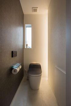 Modern Home by Clasis Homes of Japan Japanese Modern, Japanese House, Wc Bathroom, Purple Shampoo, Toilet Design, Studio Room, Perfect Blonde, Powder Room, Sink