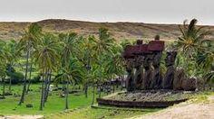 Resultado de imagen para postales de isla de pascua