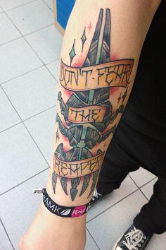 mass effect tattoo - Google Search
