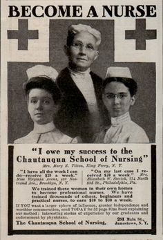 Become a nurse. Even back then, advertisements didn't tell the whole truth huh? :)