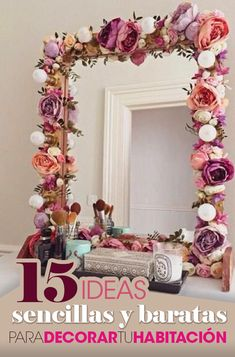 15 Cheap and simple ideas to decorate your room. 15 Cheap and simple id . Tumblr Rooms, Diy School Supplies, Ideas Baratas, Decor Ideas, Ideas Para, Room Ideas, Decorate Your Room, Do It Yourself Home, Diy Table