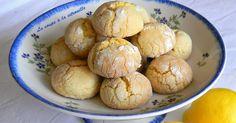 Biscuits tendres au citron Biscotti morbidi al limone  Que font des blogueuses et les blogueurs culinaires en dehors de leur bl...