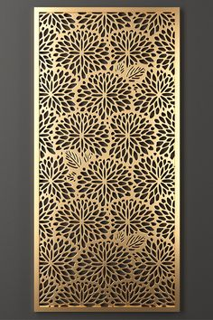 Laser Cut Patterns, Stencil Patterns, Metal Screen Doors, Narrow House Designs, Laser Cut Panels, Main Door Design, Grill Design, 3d Models, Home Room Design