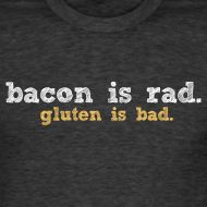I pinned this for my friend Kerri... I have a feeling she will make it her new motto.    Paleo t-shirt