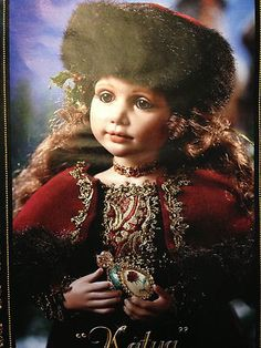 "Ashton Drake ""Katya"" Porcelain Collectors Doll Jane Zidjunas Desigh RARE   eBay"