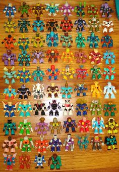Complete Battle Beasts Collection. If only my little brother didn't rip off all of my guys' arms.....
