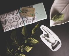 """Nature inspired black and white package of Castelbel """"cucumber&mint"""" luxury soap bar - TLV Birdie Blog"""