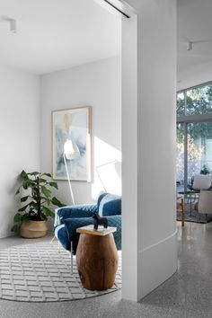 The Alpha House by BuildHer Collective - Project Feature - Alphington, VIC - The Local Project Interior Lighting, Interior Styling, Interior Decorating, Living Room Inspiration, Interior Design Inspiration, Casual Family Rooms, Bungalow Renovation, House Renovations, Lounge Areas