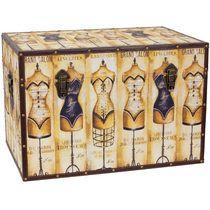 Mannequin storage trunk