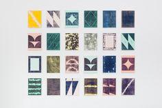 """Gabriel Braun, \""""o.T. (Holzschnitte / Monotypien)\"""", 2014"""