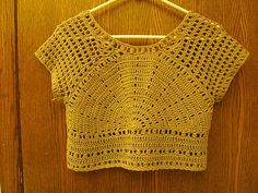 Pattern was featured on Knit & Crochet Today, Episode 204: Basics of Shaping, #CrochetTop