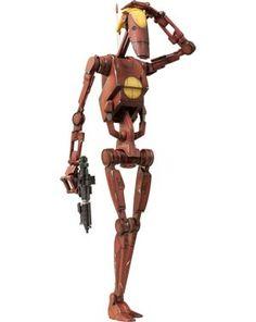 #StarWars #BattleDroid Geonosis Commander And #CountDooku Hologram 12-Inch Action Figure - Midtown Comics