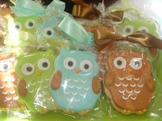 Giggles Galore: owl cookies