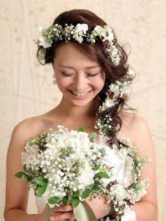 ウェディング 花かんむり - Google 検索