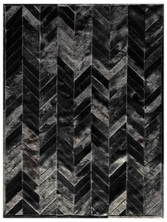 Shop the Patchwork Cowhide Chevron Handmade Cowhide Black/Ivory Area Rug at Perigold, home to the design world's best furnishings for every style and space. Plus, enjoy free delivery on most items. Homemade Rugs, Chevron Area Rugs, Sheepskin Rug, Cow Hide Rug, Cow Rug, Grey Carpet, Carpet Colors, White Area Rug, Modern Rugs