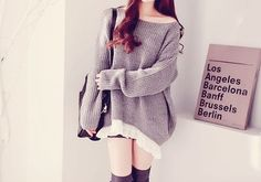Cute oversized sweaters <3