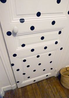 Porte à pois  #dots #door