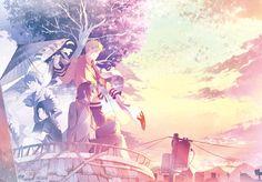 Tags: Fanart, NARUTO, Uzumaki Naruto, Uchiha Sasuke, Pixiv, PNG Conversion…