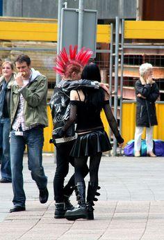 Punk couple. by P Villerius, via Flickr