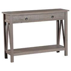 Console Table Grey - Linon Home Decor