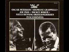 Oscar Peterson, Joe Pass, NHOP, Mickey Roker, Stephanie Grappelli | Skol | In Scandinavia