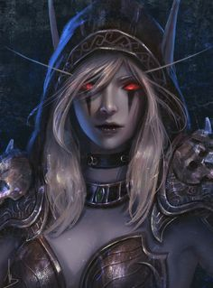 World of Warcraft Art: Photo World Of Warcraft, Art Warcraft, Christina Ricci, Fantasy Women, Fantasy Girl, Fantasy Rpg, Fantasy Characters, Female Characters, Scarlett Johansson