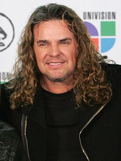Fher Olvera, lead singer of the Latin band, Mana.
