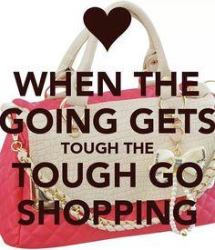 Tough go shopping