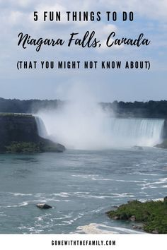 Planning a visit to Niagara Falls, Canada? These are my 5 favourite lesser known attractions in Niagara Falls that are fun for all ages!   Gone with the Family   #niagarafalls #niagarafallscanada #ontario #canada #familytravel
