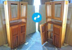 Armário feito sob medida com peroba rosa de demolição.  Visite nosso site: http://vrmarcenaria.com.br/  Ou entre em contato para orçamento: (11) 3845-5210 contato@vrmarcenaria.com.br