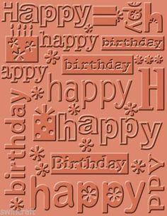 Cuttlebug-Embossing-FOLDER-Happy-Birthday-371133