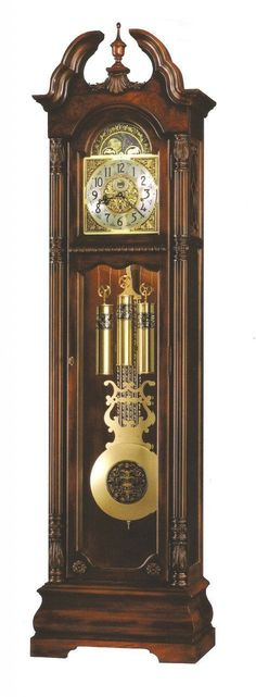 Howard Miller 611-084 Ramsey Tuscany Cherry Grandfather Clock
