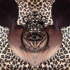 Custom dark auburn to a light auburn, light ash brown lightest strawberry blonde and platinum blonde hair Intense Extensions