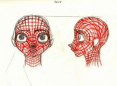 Aleksandar Kolev's drawings, scribbles and animations: 3d Character Face TopologyJust a facial topology.....