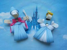 Cinderella Hair Clip-Fairy Godmother Hair Clip by SiennasBowtique