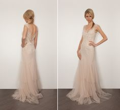 Sarah Janks Bridal Couture 2013 Collection.  the back of this is amazing.